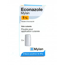 Econazole 1% Mylan, Talcium...
