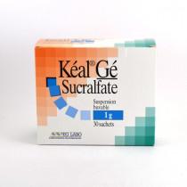 Kéal Gé 1g Sucralfate Suspension Buvable , 30 Sachets