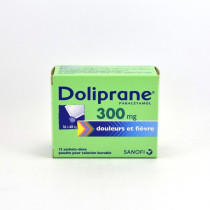 Doliprane Paracetamol 300 mg Children's Sachets (16-48 kg) – Pack of 12