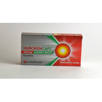 NurofenCaps 400mg Soft...