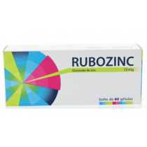 Rubozinc Capsules – Pack of 60