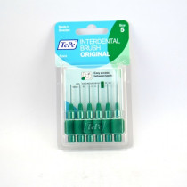 6 Green Interdental Brushes...