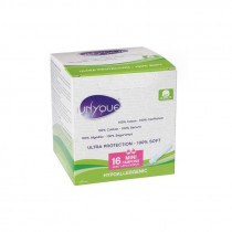 Unyque Tampons 100% Cotton - Mini - 16 Tampons With Applicator