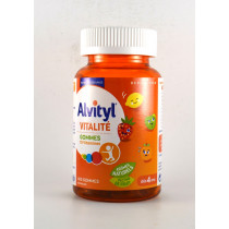 Alvityl Vitalité - Gums With 10 Vitamins From 4 Years Old - 60 Gums