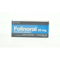 Folinoral 25 mg, Vitamine B - 14 Gélules