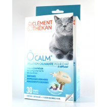 Clement Thékan - Ocalm Diffuser + Calming Solution For Cats - To Diffuse - 30 Days