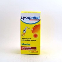Lysopaine Throat Sore...