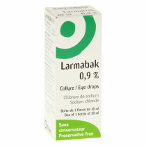 Larmabak 0.9% Eye Drops,...