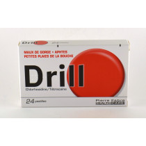 Drill Lozenges with sugar,...
