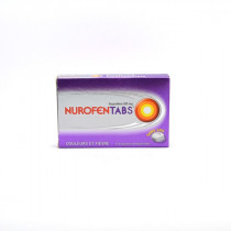 Nurofentabs 200mg with Ibuprofen, box of 12 Orodispersible Tablets