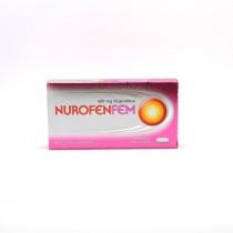 Nurofenfem Ibuprofen 400mg Painful Rules, Box of 12 Film-coated Tablets