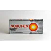 Nurofen 200mg A L'Ibuprofène, Box of 20 Coated Tablets, Fever Pain as from 20kg