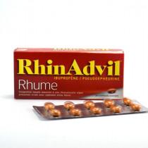 Rhinadvil Ibuprofen & Pseudoephedrine, Box of 20 coated tablets