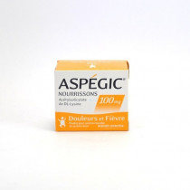 Aspégic Infants 100 mg,...