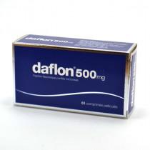 Daflon 500 mg, Fraction flavonoiquepurifiée, Circulation Veineuse & Crise Hémorroïdaire, 60 Comprimés