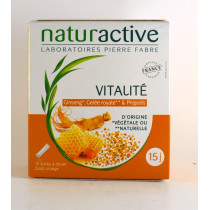 Vitality Food supplement  - Naturactive, 15 Sticks