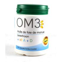 OM3 Cod Liver Oil + vit. A...