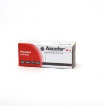 Ascofer 33mg, 30 capsules