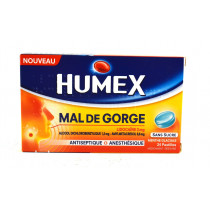 Humex Throat Sore, Sugar...