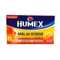 Humex Sore Throat, Lemon...