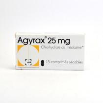 Agyrax 25mg Boite de 15 Comprimés Sécables