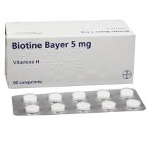 Biotin Bayer, 5mg, 60 tablets