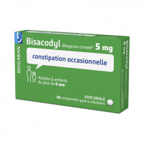 Bisacodyl, occasional...