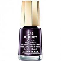 Nail polish n°248 brugundy,...