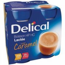Delical classic caramel milk drink, 4 x 200ml