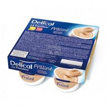 Delical dessert cream floridine praline, 4 x 200g