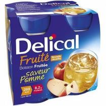 Delical apple fruit drink, 4 x 200ml
