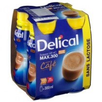 Delical drink max lactose free, coffee, 4 x 300ml