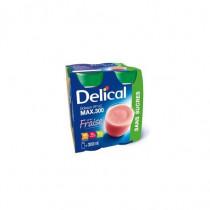 Delical sugar-free drink, strawberry, 4 x 300ml