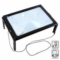 Large LED Tabletop Magnifier