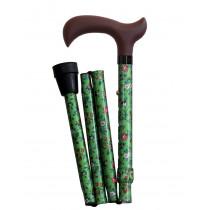 light green Folding cane
