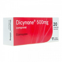 Dicynone 500mg, Box of 20 tablets