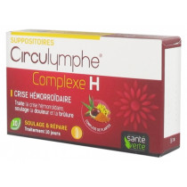 Circulymphe Comple H - Crise Hémorroïdaire - 10 suppositoires