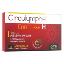 Circulymph - H Complex - Blood Vessels - 16 tablets - Green Health