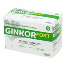 Tonipharm: Ginkor Fort Capsules – to treat haemorrhoids and venous circulatory problems – Pack of 60