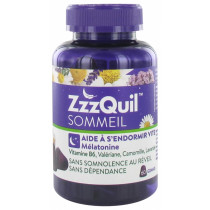 ZzzQuil Sommeil - Mélatonine - 60 Gommes