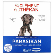 Anti-Flea Flea Collar Anti-Ticks Big Dogs Parasikan, 7-9 Months Protection,  Clément Thékan