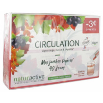 Naturactive Food Supplement for Circulation, pack of 2 x15 liquid sachets