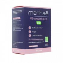 Manhaé Ménopause Expert Bio - Nutrisanté - 2 Months, 60 Capsules
