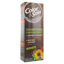 Color & Soin - Dark Hair Shampoo - 3 Oaks - 250 ml
