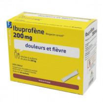 Ibuprofen 200 mg Biogaran Conseil - 20 Sachets Strawberry Flavor