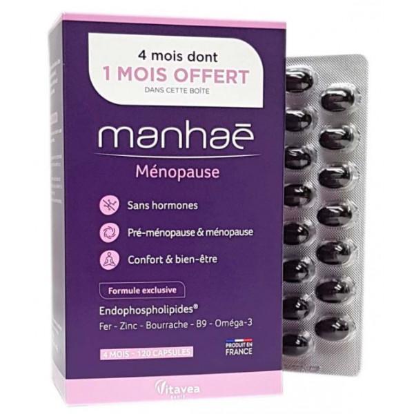 Manhae NUTRISANTE, 120 Capsules , 4 months whose 1 month free
