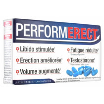 PerformErect - Erectile Dysfunction - 3 Chênes - Box Of 4