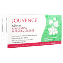 Jouvence Circulation & Light Legs - 60 Capsules - 2 Month Program