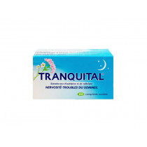 Tranquital Dry extract of Hawthorn and Valerian, box of 100 coated tablets