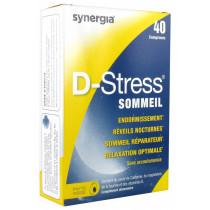 D-stress Sleep - Synergia - 40 Tablets